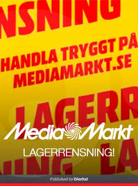 LAGERRENSNING!
